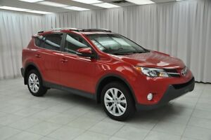2015 Toyota RAV4 LIMITED AWD SUV w/ BLUETOOTH, HEATED LEATHER, N