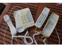 Retro Telephones with cabling