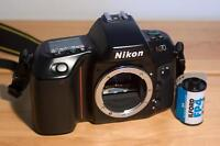 Nikon N70 camera body.  In great condition, barely used.