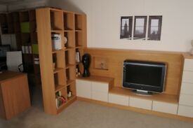 TV Media Unit and Matching Shelving Unit