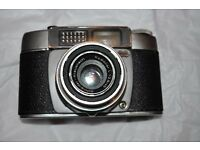ADOX PRONTO-LK 35mm CAMERA WITH ORIGINAL HARD LEATHER CASE