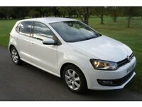 Volkswagen Polo Match 1.2 2013, Low Mileage, 5 door, Candy White, Mint Condition!!!