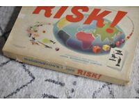 Vintage Board Game Risk 1960's