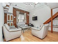 3 Double Bedroom Apartment. Top Floor Flat. Warehouse conversion. Excellent Transport Links.