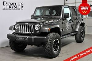 2017 Jeep WRANGLER UNLIMITED **SAHARA BLACK OPS STAGE 1**