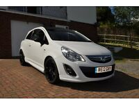Corsa Limited Edition 2012. White. Immaculate condition.