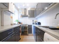 **Large two bed flat to let**Wet room - private decked area - Wandsworth Common ( Trinity Rd)