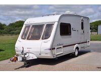 Swift Accord 480 2003 2 berth touring caravan