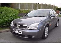 Vauxhall Vectra 1.8 Petrol 2002 5 door hatchback **Long Mot**