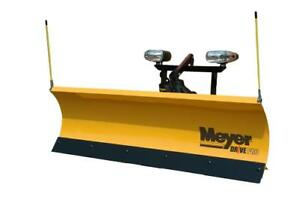 NEW MEYER SNOW PLOWS! Meyer Drive Pro, Diamond Edge, Super V LD Snowplows. Best Price on the Market!