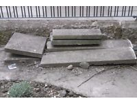 Free garden wall coping stones