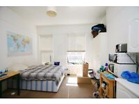 Large Double Studio, Includes Gas and Water, Close To Shops, Restaurants and West Hampstead Tube.