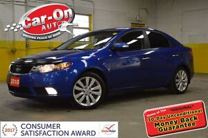 2010 Kia Forte 2.4L SX LEATHER SUNROOF ALLOYS
