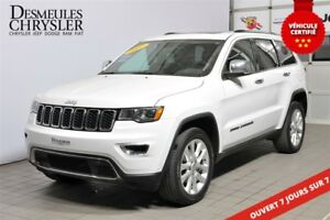 2017 Jeep Grand Cherokee LIMITED V6*TOIT*CUIR*GPS* MAGS 20''*
