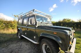 Land Rover Defender 110 2.5 Station Wagon.1986 Country Station Wagon,fully refurbished in 2014.