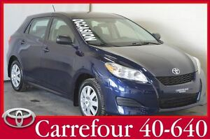 2012 Toyota Matrix Automatique Un seul proprio, Impeccable !!!