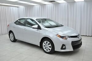 2014 Toyota Corolla S SPORT 6SPD ECO SEDAN w/ BLUETOOTH, HTD SEA