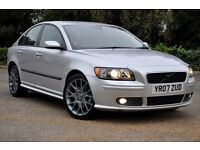 2007 Volvo S40 2.0 D Sport 4dr+DIESEL+FREE WARRANTY+12 MONTHS MOT+JUST SERVICED+SPORT+6 SPEEDS
