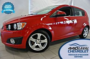 2012 Chevrolet Sonic LT*TOIT*MAGS 17 PO*BLUETOOTH*