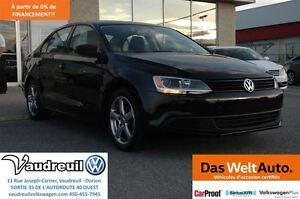 2012 Volkswagen Jetta Trendline + A/C + BANCS CHAUFFANTS + JAMAI