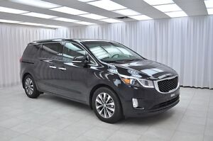 2016 Kia Sedona SX ECO 7PASS MINIVAN w/ HTD LEATHER, BLUETOOTH,