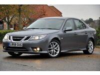 2009 Saab 9-3 1.9 TiD Vector Sport 4dr+DIESEL+FREE WARRANTY+FULL SERVICE HISTORY+12 MONTHS MOT