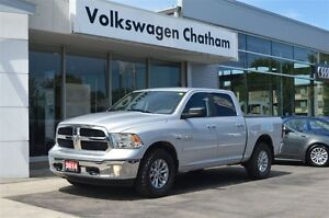 2014 Ram 1500 SLT Crew Cab 4x4 Tow Package Touch Screen