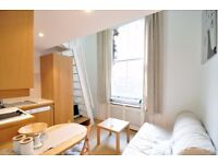 -Duplex studio flat just few minutes away from station, all bills included