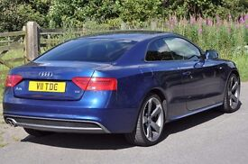 2013 Audi A5 Black Edition S-Line 2.0 TDI 177 PS DSG Semi-Auto