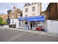 MODERN 1 BED FLAT, ON 1ST FLOOR, ABOVE SHOPS, MOSCOW ROAD, BAYSWATER - GREAT LOCATION