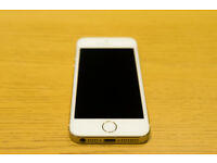 Apple iPhone 5S 32GB Champagne Gold - with box Good Condition Fully working - FACTORY UNLOCKED