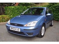 Ford FOCUS 1.8 petrol, 5dr, low mileage