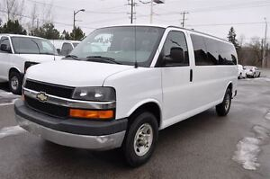 2009 Chevrolet Express 3500 LT 12 Passenger . Fully loaded.