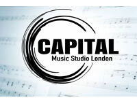 Capital Music Studio - Production Recording Mixing Mastering & Music Tuition in West London