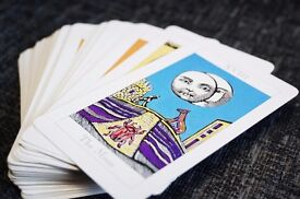 Tarot cards - Great looking full pack of 78 cards with full illustrated explainer book.