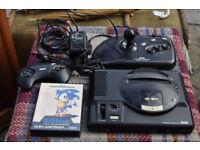 retro sega mega drive 1 console and accessories sonic
