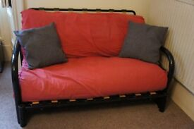 Futon Shop - Double Futon with Red Cover