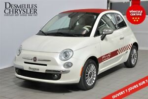 2013 Fiat 500C Lounge**CONVERTIBLE**CUIR**