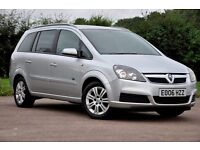 2006 Vauxhall Zafira 1.8 i 16v Active 5dr+MPV+7 SEATER+LOW MILEAGE+LONG MOT+JUST SERVICED