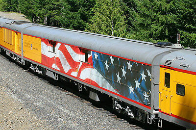 Union Pacific Promontory Baggage Car Flag N Decals UP UPRR Heritage Fleet 5779