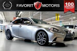 2014 Lexus IS 350 F SPORT AWD | RED LTHR | NAV | BACK-UP CAM