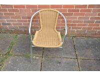 Rattan Garden Chairs Heavy Duty Stackable