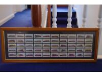 50 LAMBERT & BUTLERS CIGARETTES CARDS 1994 REPRODUCTIONS (1912) WORLDS LOCOMOTIVES FRAMED COLLECT