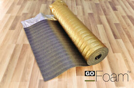 Sonic Gold Acoustic Underlay for wood and laminate flooring - 30m2 a box