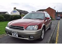 SUBARU LEGANCY 2.5 OUTBACK SPORTS TOURER 5DR PETROL (FULL SERVICE HISTORY)