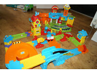 VTech Bundle: Toot-Toot Drivers Train Station & Garage Complete
