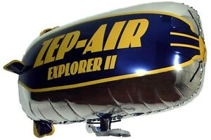 NEW ZEP-AIR™ Explorer RC Blimp Indoor Zeppelin Airship SHIPS INTERNATIONAL GSP
