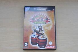 Nintendo GameCube Retro Game Donkey Konga with instruction booklet, Thatcham, Berkshire