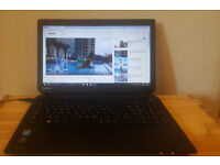 Laptop Toshiba 15.6inches Intel, RAM 4GB, Hard Drive 500GB, Bluetooth. Delivery options available.