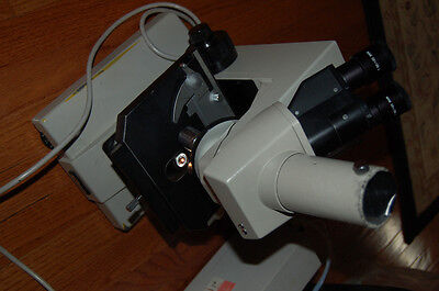 Nikon Labophot Trinocular Microscope Achr-api Whk 10x20 L Plan Dplan 100
